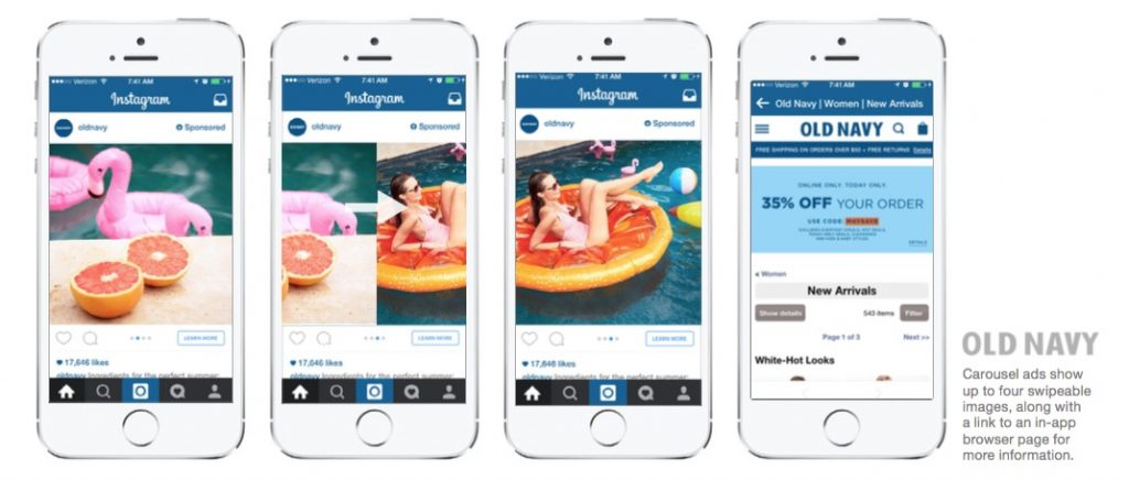 instagram carousels for video
